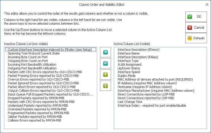 Managed Switch Port Mapping Tool from NetScanTools